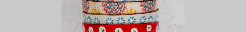 Materiali prima di tutto 4 Ciotole in ceramica boema