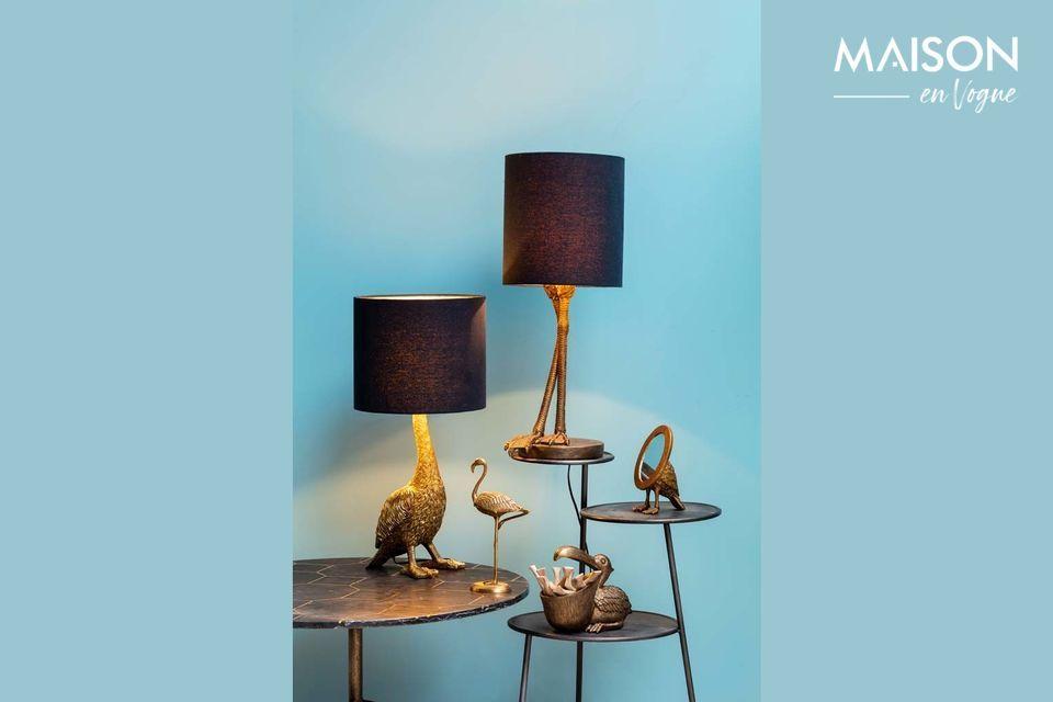 Una lampada originale e sofisticata