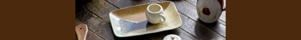 Materiali prima di tutto Arrigny piatto rettangolare in gres