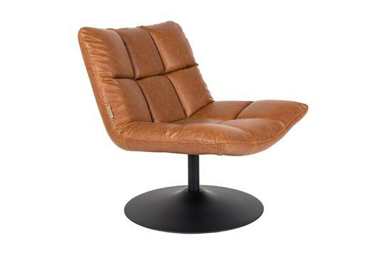 bar Sedia lounge bar vintage marrone