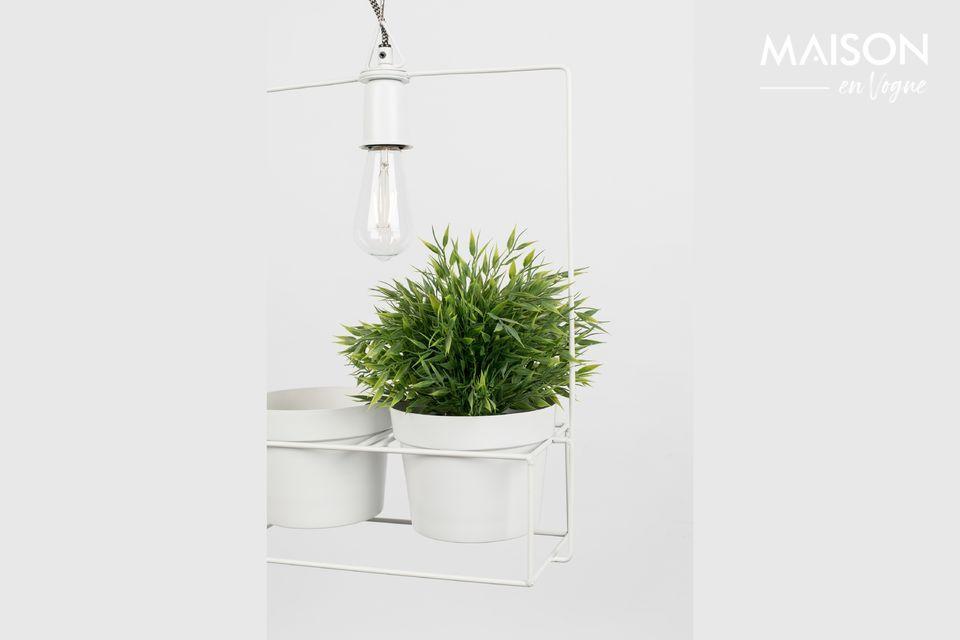 Una lampada a sospensione che non si vede in casa di tutti
