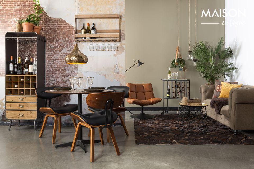 Elegante poltrona lounge