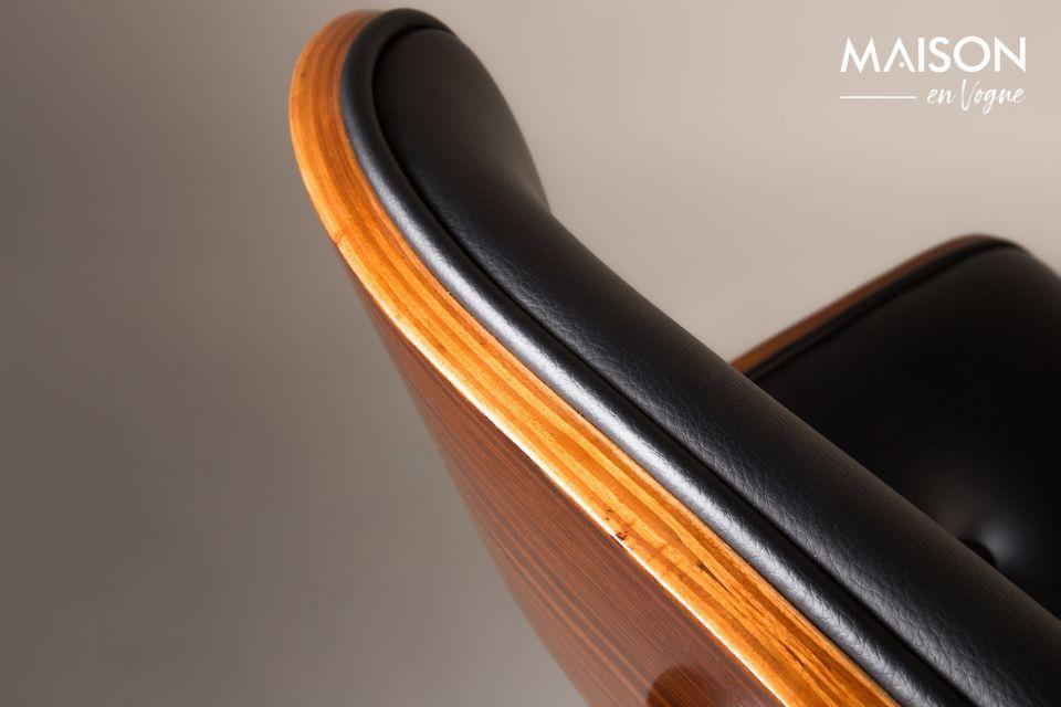 Black Wood sedia marrone - 7