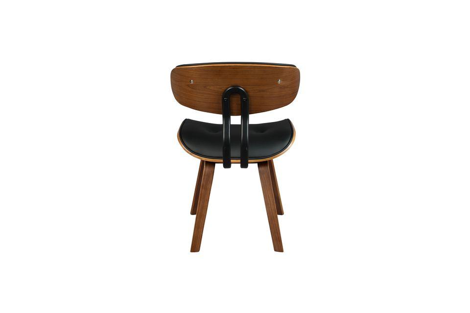 Black Wood sedia marrone - 9