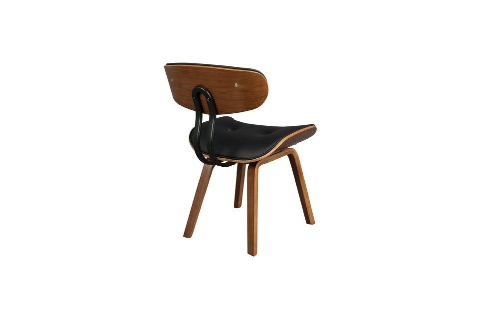 Black Wood sedia marrone - 10