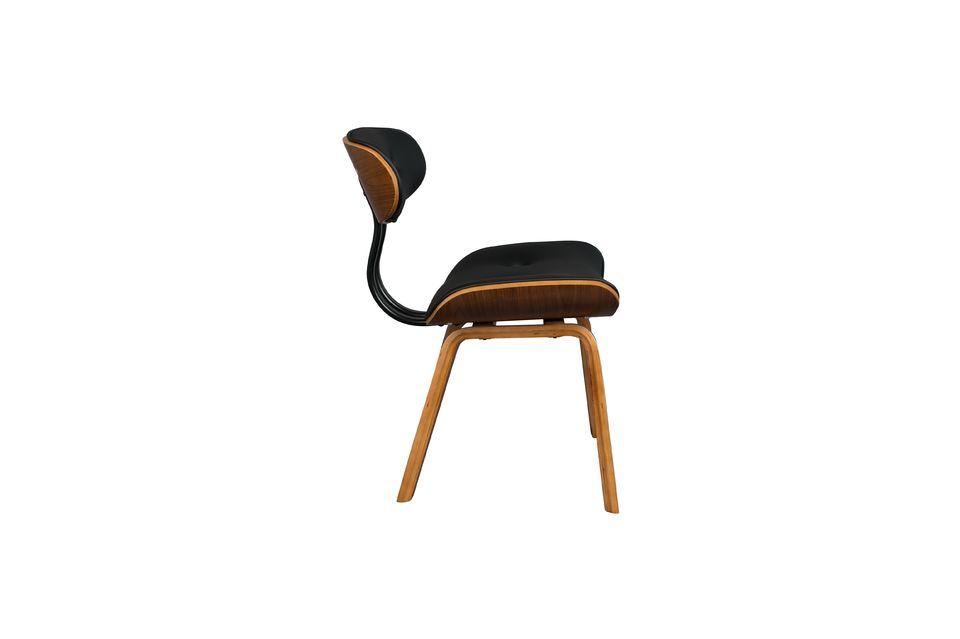 Black Wood sedia marrone - 11