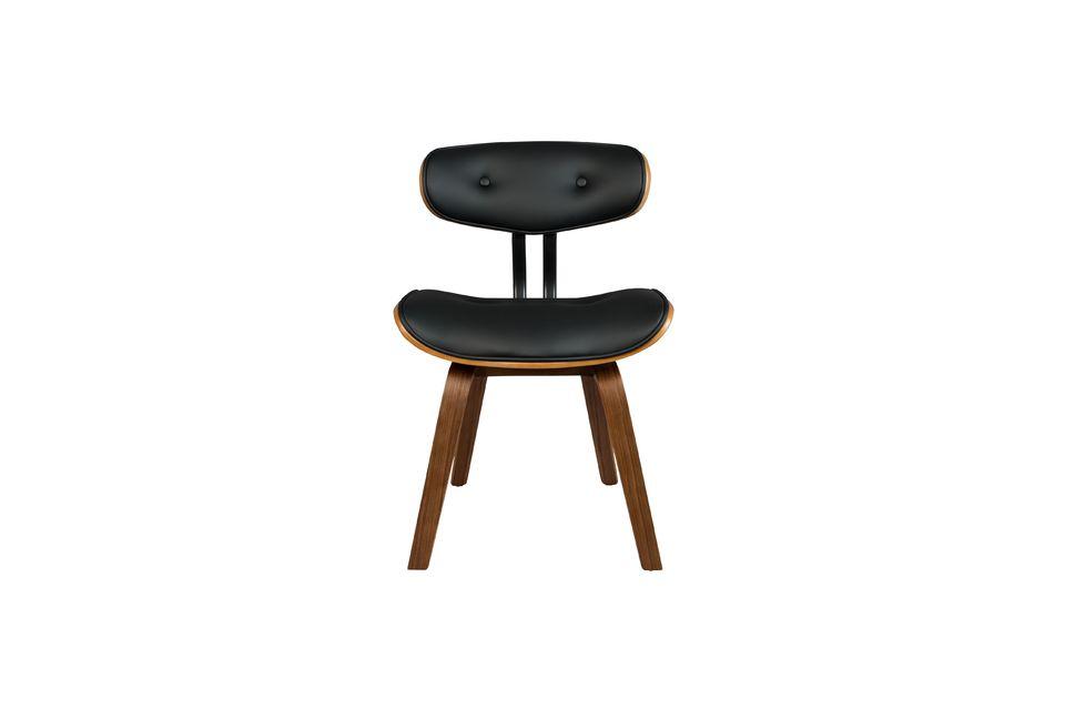 Black Wood sedia marrone - 12