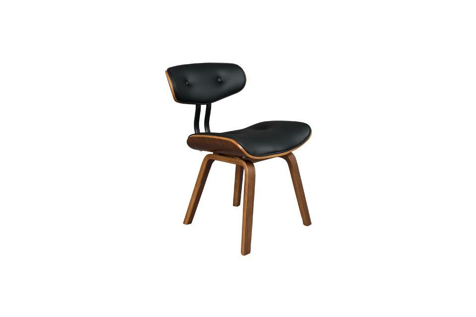Black Wood sedia marrone - 8