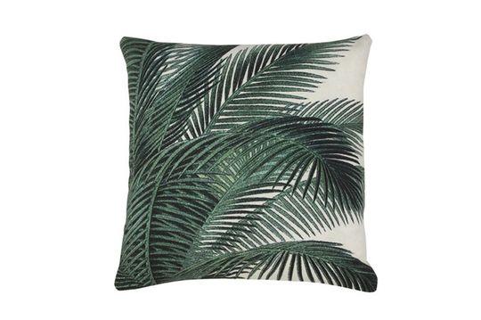 Bourth Cuscino con stampa a foglia di palma