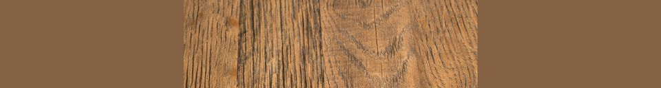 Materiali prima di tutto Braza Tavolo bistrot rotondo marrone