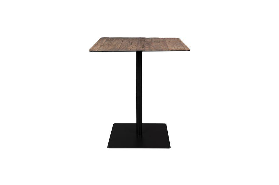 Braza Tavolo da banco quadrato colore marrone Dutch Bone