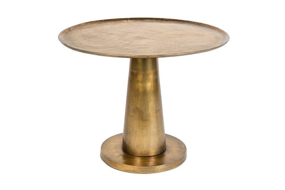 Osate un tocco di esotismo e di esotismo nel vostro salotto con questo tavolino che si integrerà