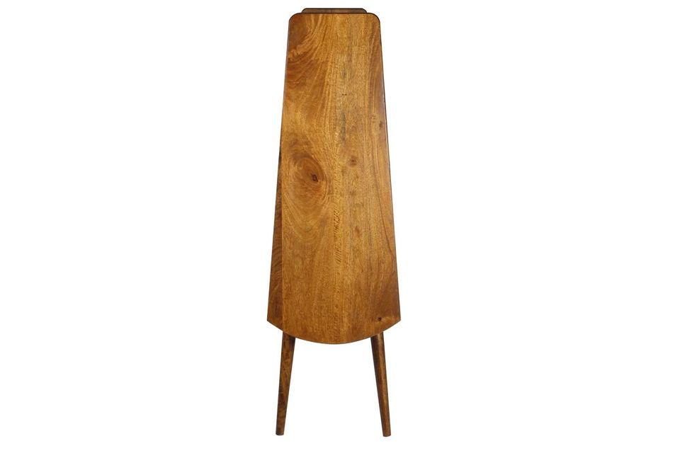Mensola in legno di mango retrò