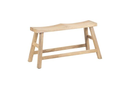 Chersey panca per due persone in legno naturale