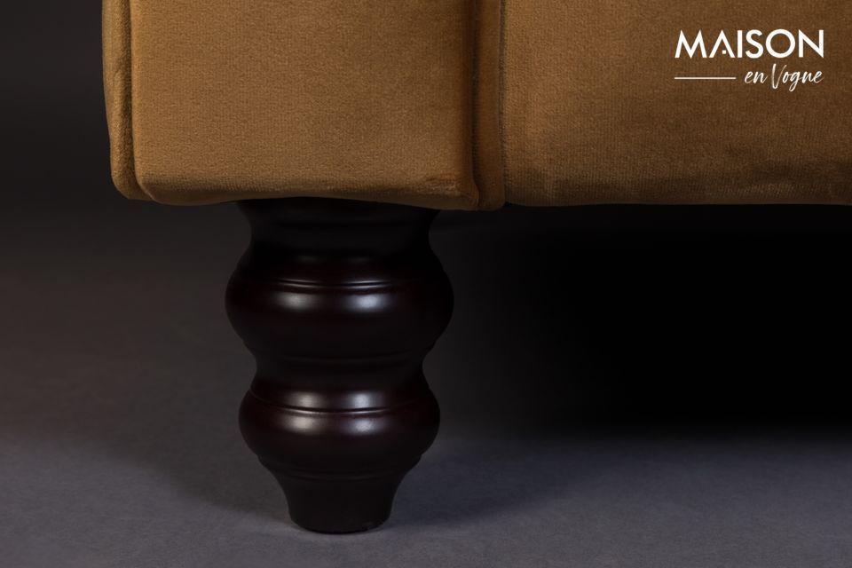Un divano vintage ed elegante