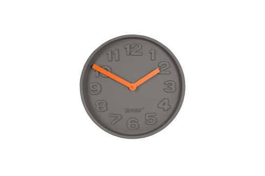 Concrete Time Orologio arancione