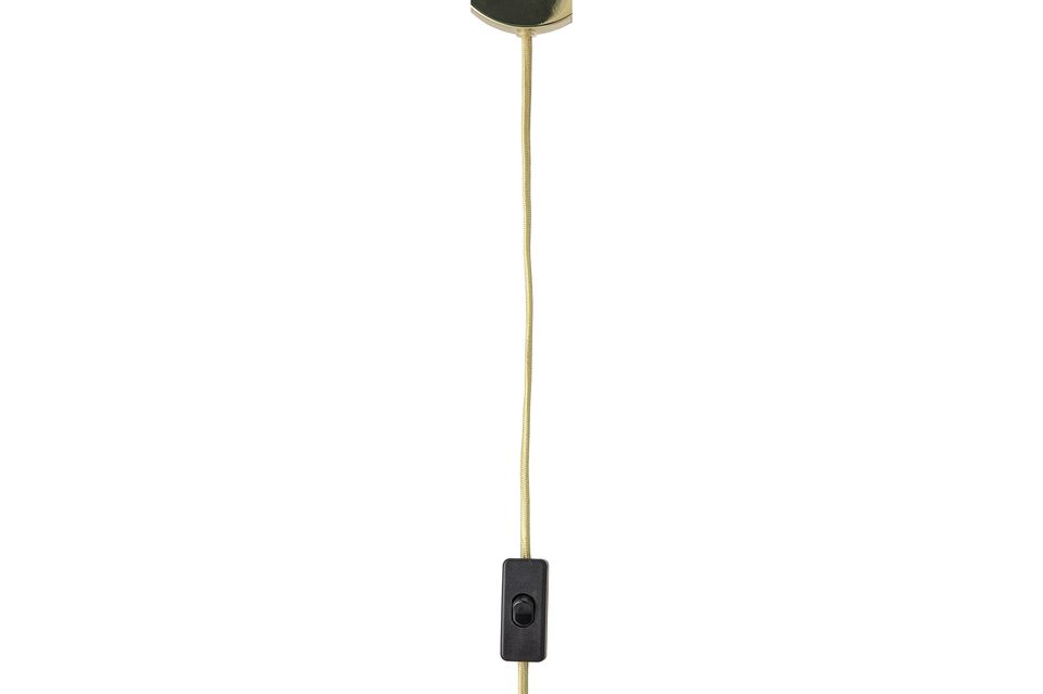 Una lampada semplice ma elegante