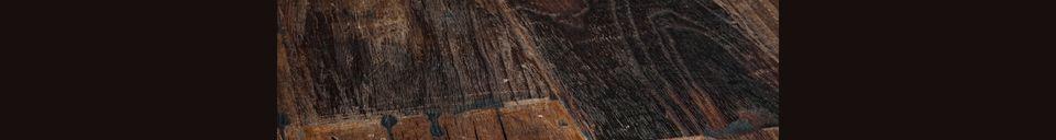 Materiali prima di tutto Crude Tavolo in legno