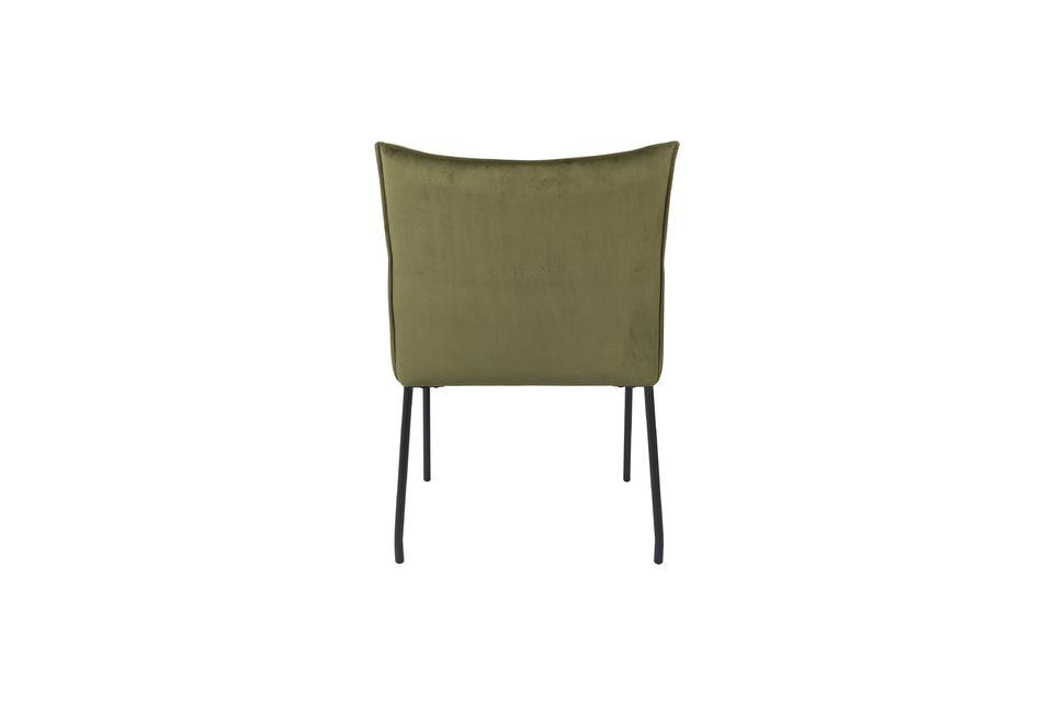 Dion Poltrona in velluto verde oliva - 8