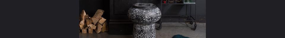 Materiali prima di tutto Drum Tavolo decorativo