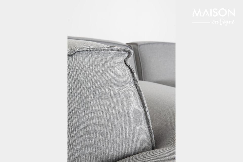 Questo divano ad angolo unisce comfort incomparabile e modernità