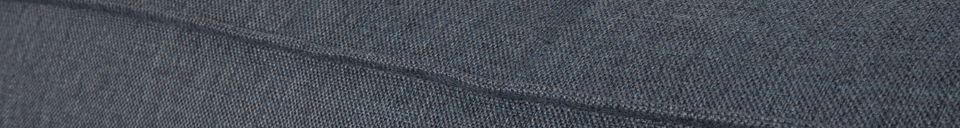 Materiali prima di tutto Fat Freddy Divano angolare sinistro grigio-blu