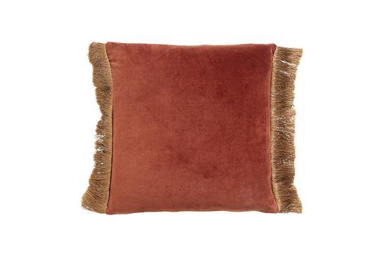 Feuchy copri cuscino in velluto di terracotta