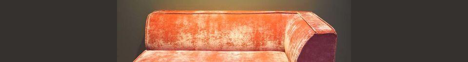 Materiali prima di tutto Floyd Divano ad angolo rosa