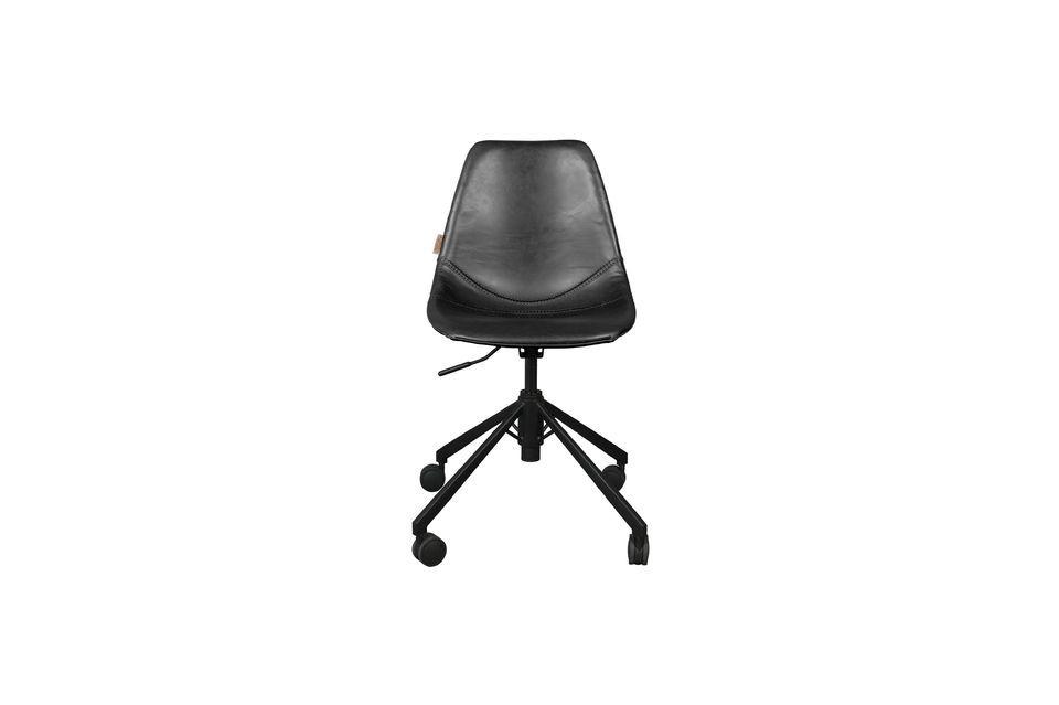 Franky sedia da ufficio nera - Una sedia da ufficio dal ...