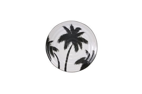 Fréthun Piastra di palma in porcellana