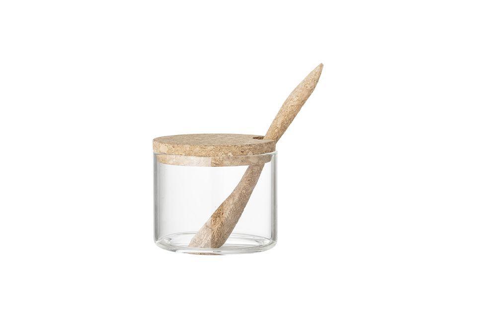 Una bella caraffa per il latte con una zuccheriera abbinata