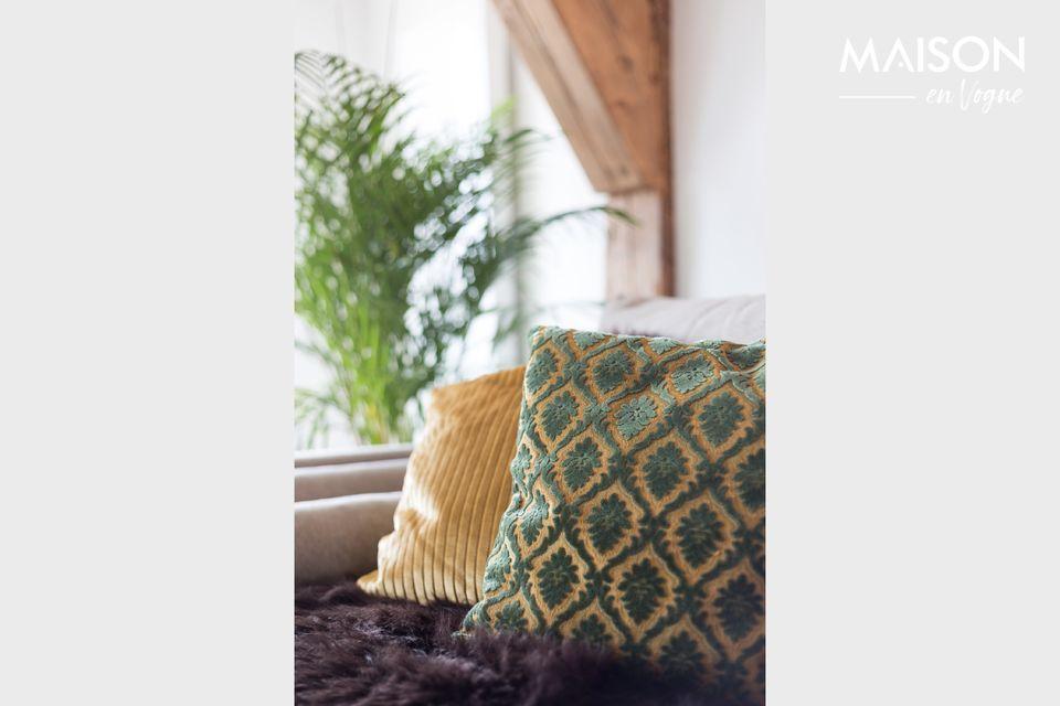 Un cuscino raffinato dal design classico