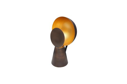 Hide & SeeMini lampada nero e oro