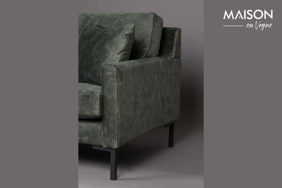2 cuscini aggiuntivi permettono di sedersi come si desidera