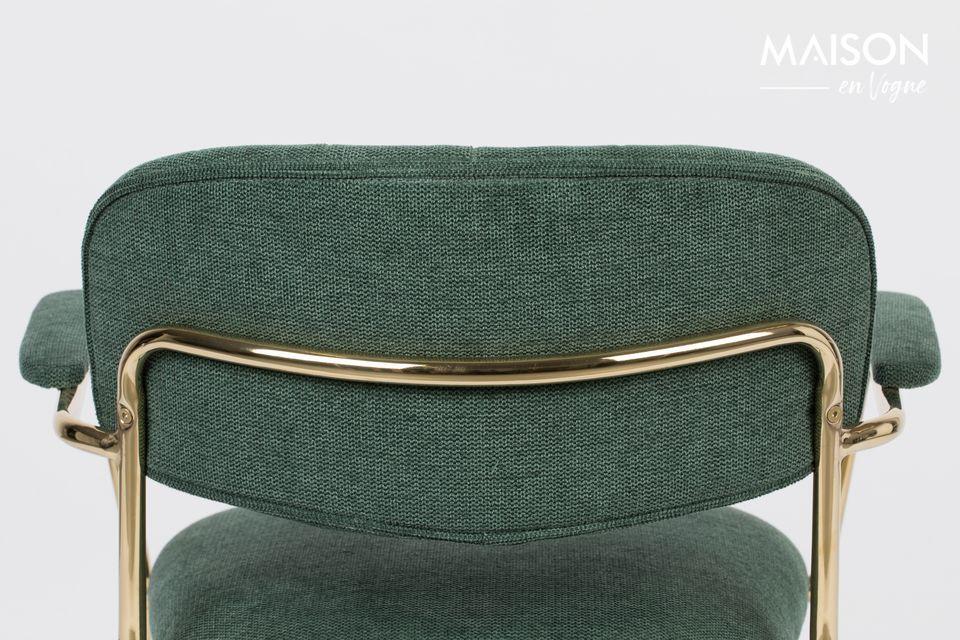Questa bella, spaziosa e confortevole sedia è un mix di poliestere (95%) e nylon (5%)