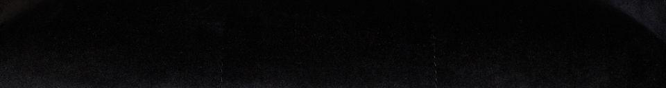 Materiali prima di tutto Kate Poltrona in velluto nero