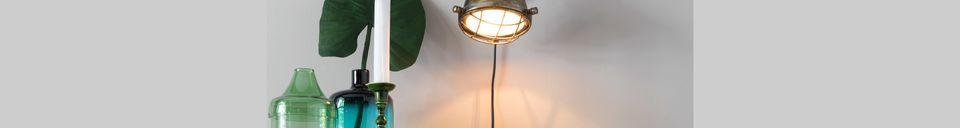 Materiali prima di tutto Lampada da parete in ottone Evan