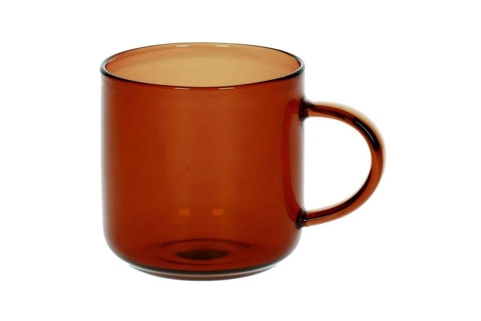 Lasi Scatola da 4 tazze per Espresso ambre scure Pomax