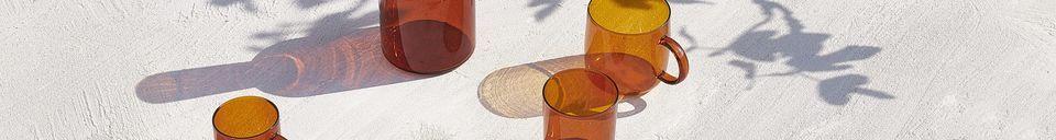 Materiali prima di tutto Lassi carafe e bicchiere