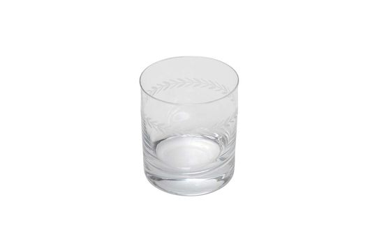 Laurier Bicchiere da whisky inciso