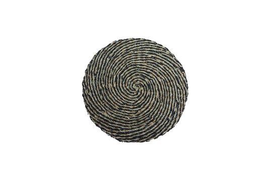 Laveyron Tovaglietta a spirale in giunco di mare naturale Foto ritagliata