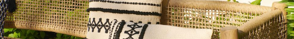 Materiali prima di tutto Marrakech Cuscino in cotone