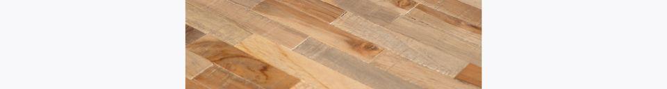 Materiali prima di tutto Maze Tavolo rotondo da bar bar finitura naturale