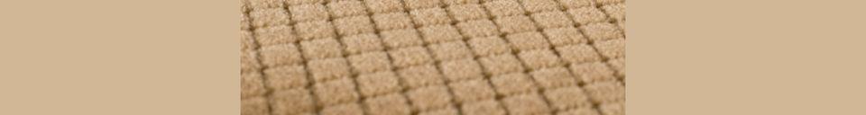 Materiali prima di tutto Melonie Sedia in colore sabbia