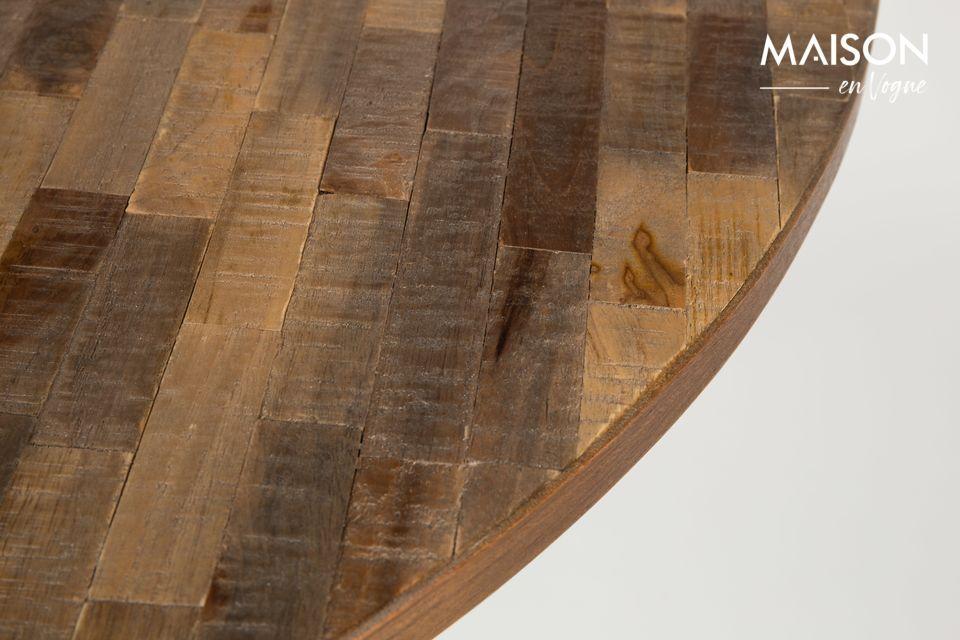 Con la combinazione di legno e display, ci sono poche possibilità di commettere un errore