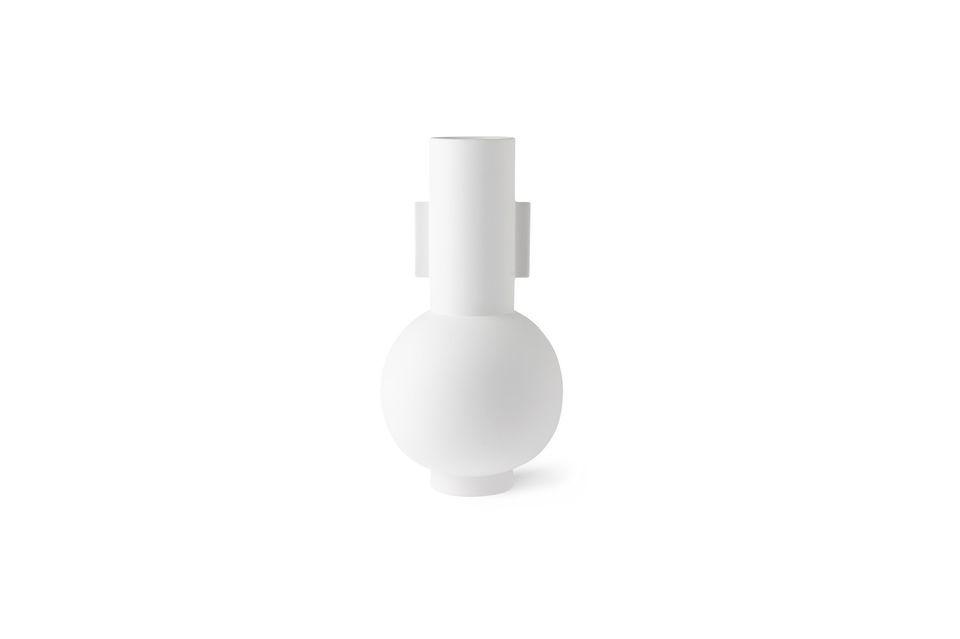 Nesploy vaso bianco opaco misura L HK Living