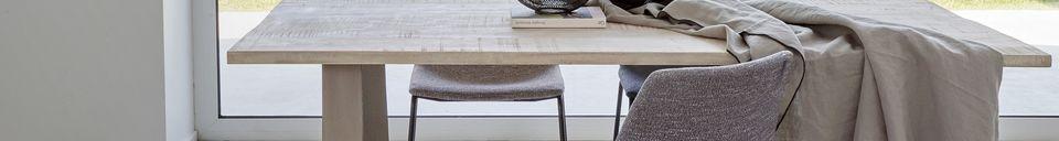 Materiali prima di tutto Nord Tavolo in legno di mango