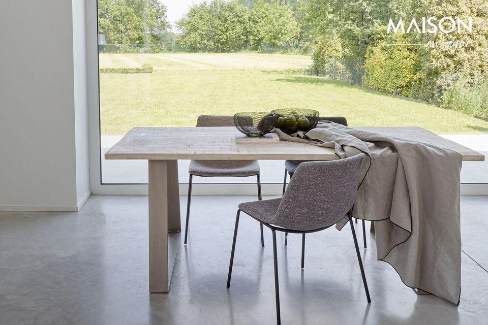 Optate per una tavola moderna e naturale allo stesso tempo