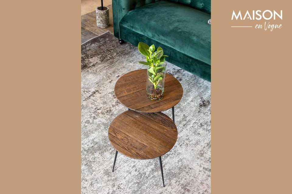 Peper Tavolino marrone 40 cm