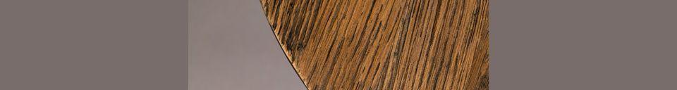 Materiali prima di tutto Peper Tavolino marrone 40 cm